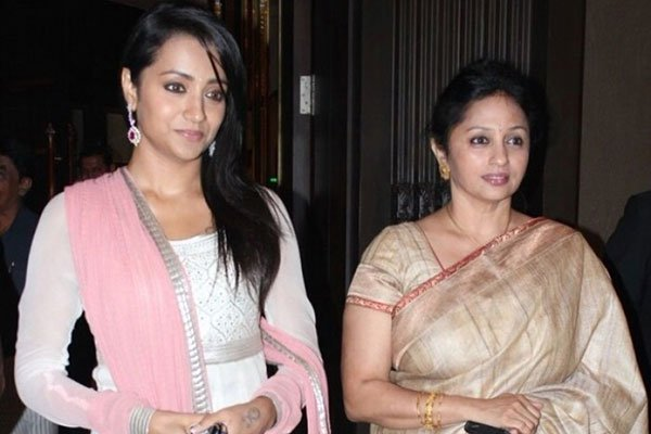 Trisha's mother rubbishes rumours