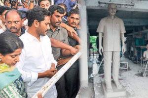 Jagan To Unveil Babayi's Statue