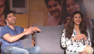Watch: Jhansi Interview with Rakul & Rahul