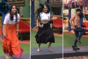 #BiggBoss3: Spicy Dances Dominate The House