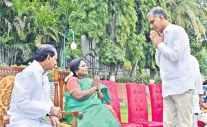 Is it the end of 'rift' between KCR's family and Harish?