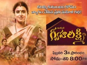 GruhaLakshmi Daily Serial – E254- 1st Mar