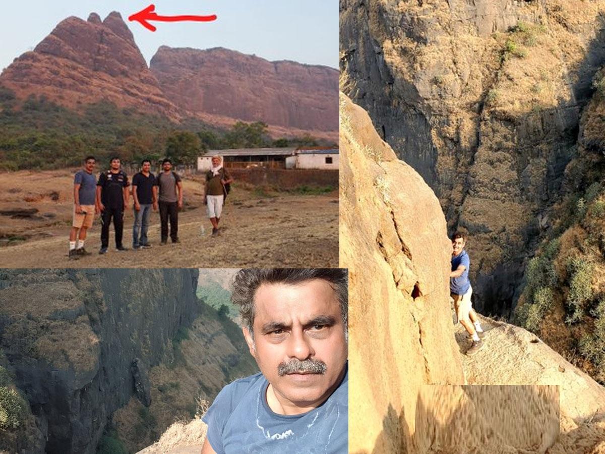 Pic Talk: Ex MP's dangerous feat