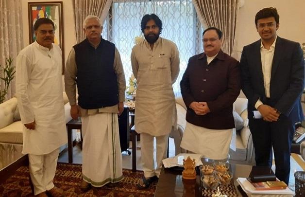 BJP – Jana Sena finalized the master plan for next elections!