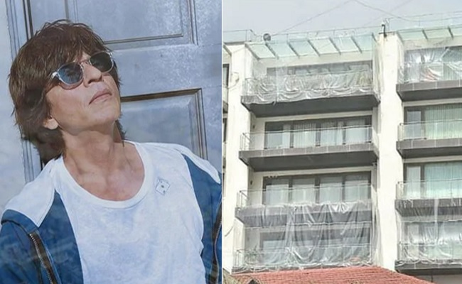 Big Hero's House Covered With Plastic Sheets