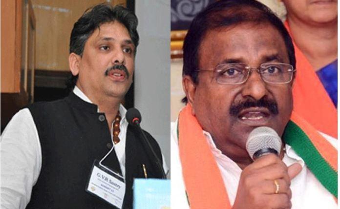 Veerraju suspends Velagapudi, GVR accepts with open arms
