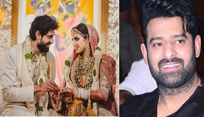 Exclusive: Why didn't Prabhas attend Rana-Miheeka wedding?