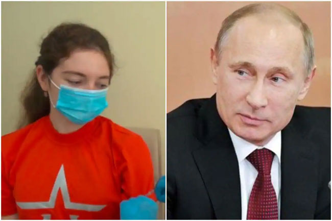 Shocking: Girl who Received Pandemic Vaccine Is Not Russian President's Daughter!