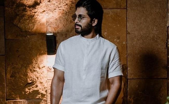 With No Shoot, Allu Arjun Trims His Beard