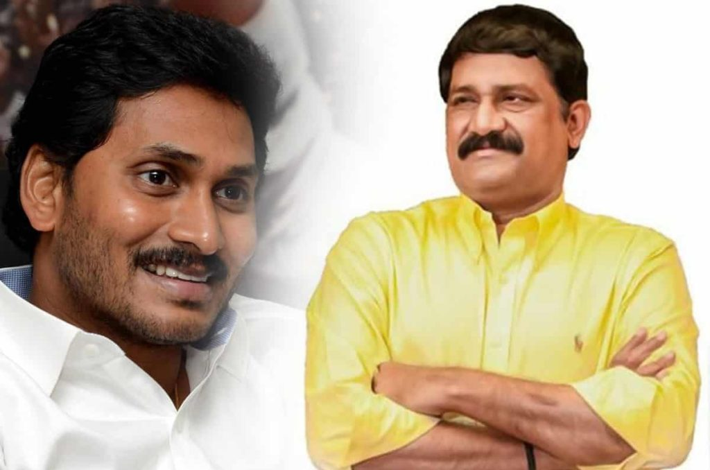 Ganta, Jagan Have Their Own Reasons To Shake Hands