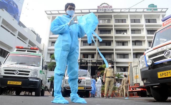 Who Is Responsible For Vijayawada Hotel Fire Mishap?