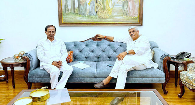 KCR Urges Centre To Take Only Common Projects Into Board Purview